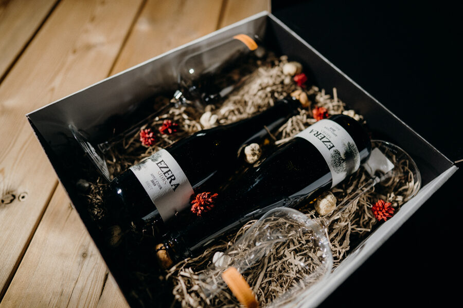 EZERA Brut 2x37,5cl 8%                   Sudraba medaļa - Gift box