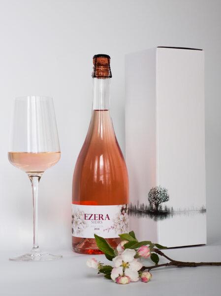 EZERA Brut rozā 75cl 8%  Gift box